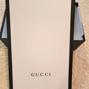 Gucci- shoe box only
